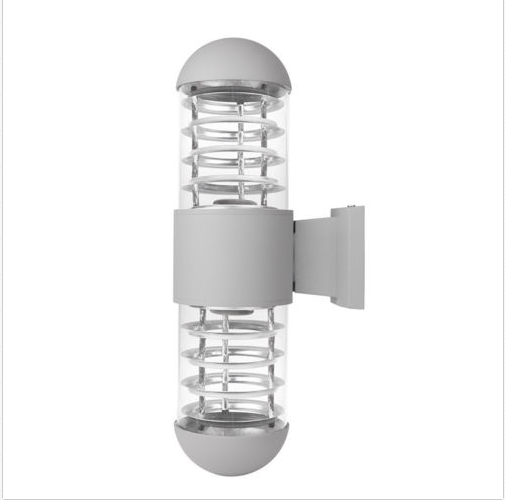 Wedlies Outdoor Wall Light Fixture Wall Mounted Sconce Lamp Weatherproof Glass Shade for Garden & Patio