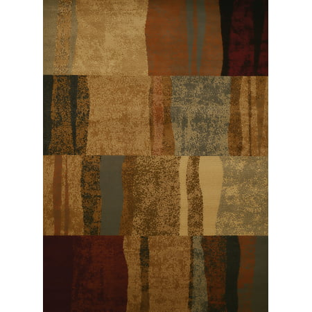 United Weavers Affinity Shadows Brown Runner Rug 1'11'' X 7' (Runners Shadow)