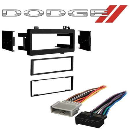 Fits Dodge Ram Pickup 84-01 Single DIN Stereo Harness Radio Install on dodge dakota aftermarket parts, dodge wiring diagram, xo vision 16 pin harness, dodge dart wiring harness, dodge m37 wiring harness, dodge dakota wiring harness, dodge electrical harness, dodge ram harness, dodge ram 1500 light diagrams, dodge ram radio, dodge transmission wiring harness, dodge durango trailer wiring harness, dodge dakota transmission diagram, dodge truck wiring harness, dodge engine wiring harness, dodge ram wiring, dodge transmission cooler lines, dodge stereo wiring, dodge charger stereo system, dodge window regulator,