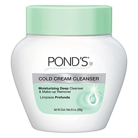 Makeup Remover Creamy (PONDS Cold Cream Moisturizing Deep Cleanser & Make up Remover 9.5oz Each)