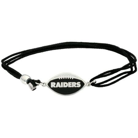 Alex And Ani Oakland Raiders Multi-Color One Size Bracelet AS17KC57S