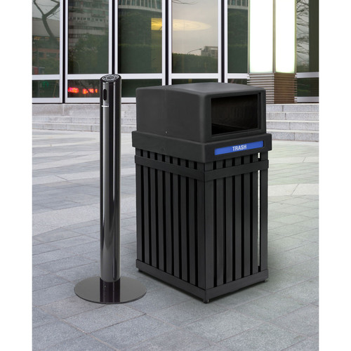 Commercial Zone ArchTec Series 25 Gallon Recycling Bin
