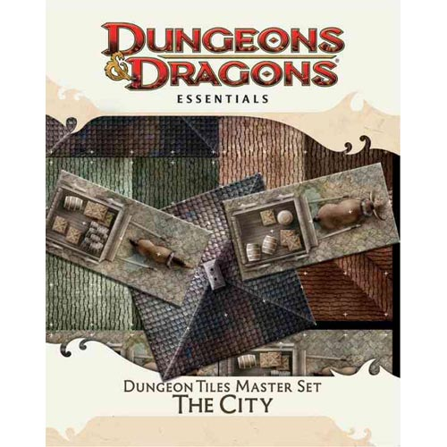 Dungeon Tiles Master Set - The City: An Essential Dungeons & Dragons Accessory