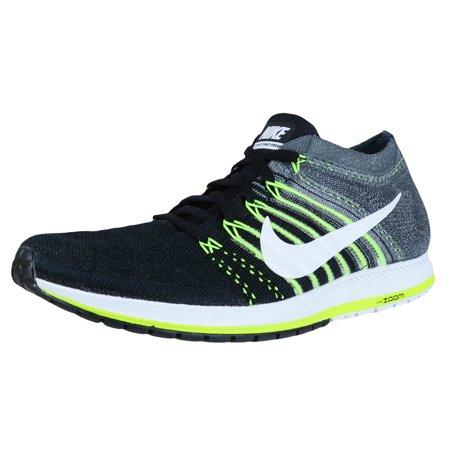Nike Zoom Flyknit Streak Running Shoes Black/White/Dark Grey