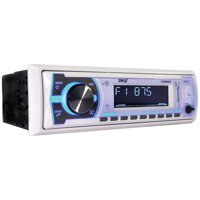 Pyle Pyle Digital Marine Stereo Receiver With (white)