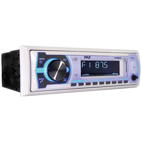 Pyle® Pyle® Digital Marine Stereo Receiver With ® (white)