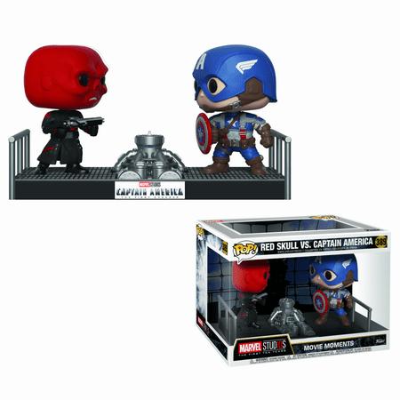 Funko Movie Moments: Marvel - Captain America vs. Red Skull