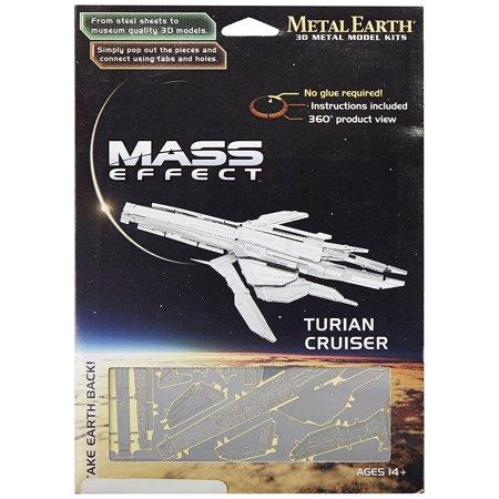 Mass Effect Metal Earth 3d Laser Cut Model Turian Cruiser