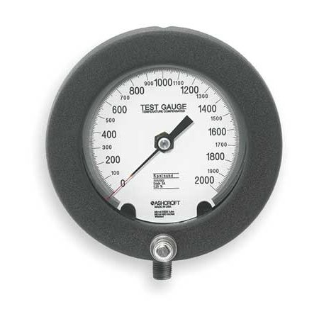 ASHCROFT 45-1082PS 02L 2000 Pressure Gauge,0 to 2000