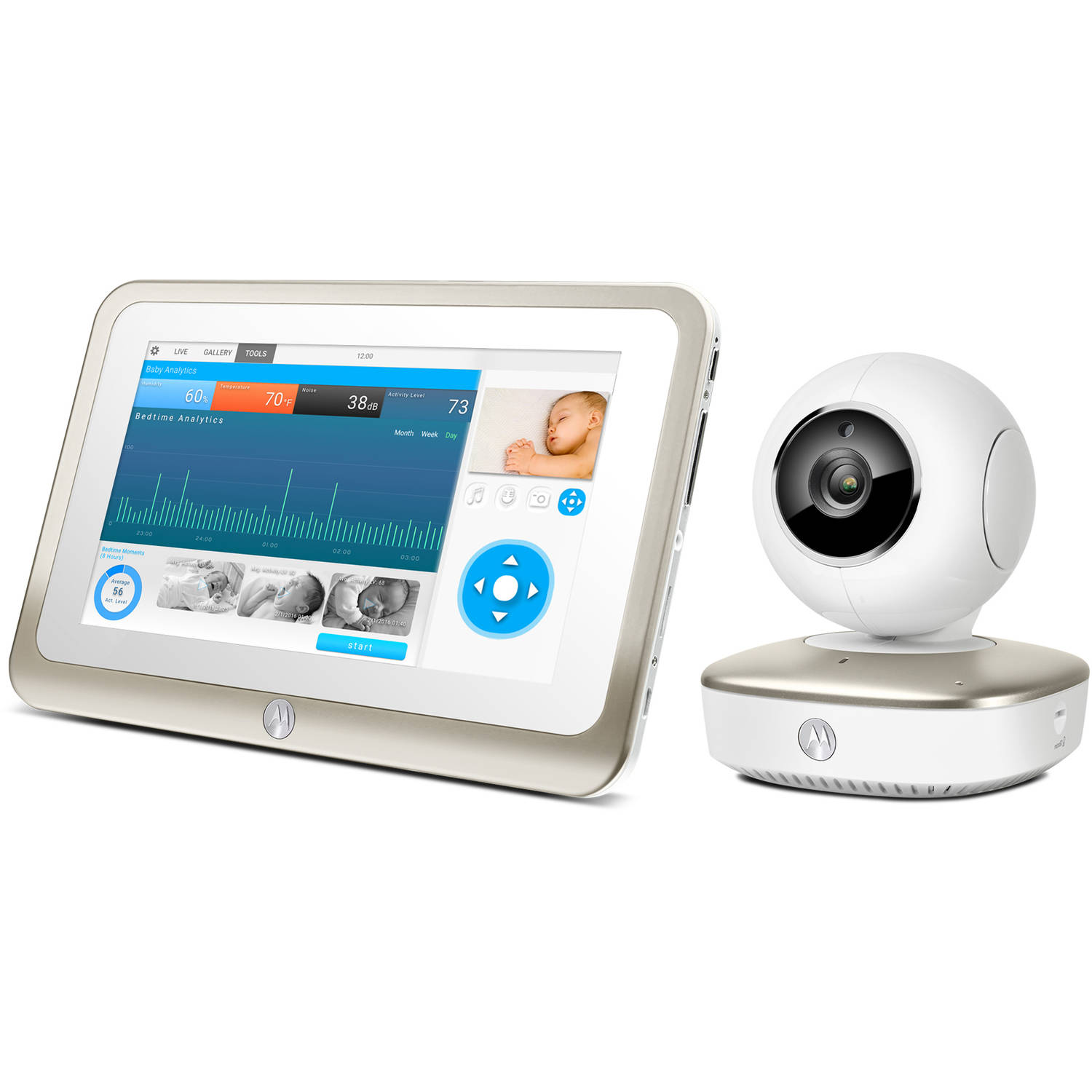 Motorola Smart Nursery, 7 MBP877CNCT