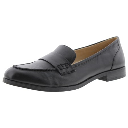 885bb2c2a0d Naturalizer - Womens Veronica Leather Round Toe Loafers - Walmart.com