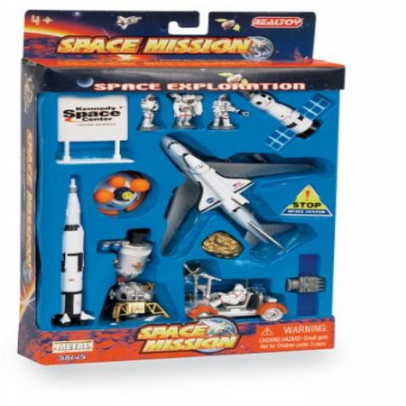 Space Mission 16 Piece set w/ Kennedy Space Center Sign - Preschool Center Signs
