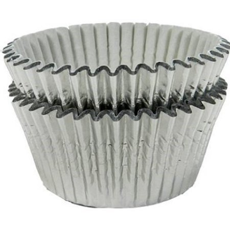 Wilton Cupcake Liners  Silver Foil  24 Ct