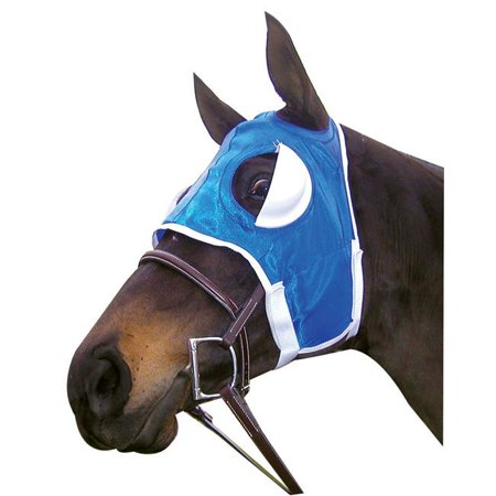 Intrepid International 155076BU Half Cup Blinker Hoods for Horse Training & Racing - Burgundy - image 1 de 1