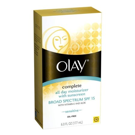 OLAY Complete All Day Moisturizer SPF 15, Sensitive Skin 6