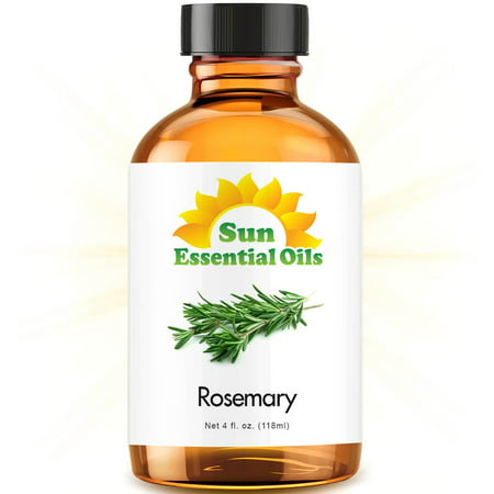 Sun Essential Oils Rosemary (Large 4oz) Best Essential Oil