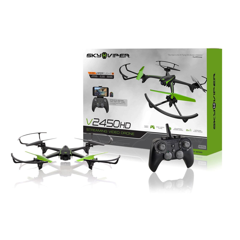 Sky Viper v2450HD Streaming Drone by SKYROCKET TOYS LLC