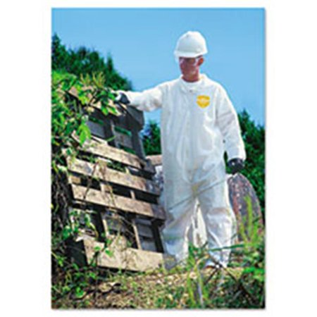 Dup NG120SL ProShield NexGen Coveralls - Zip Closure, Large