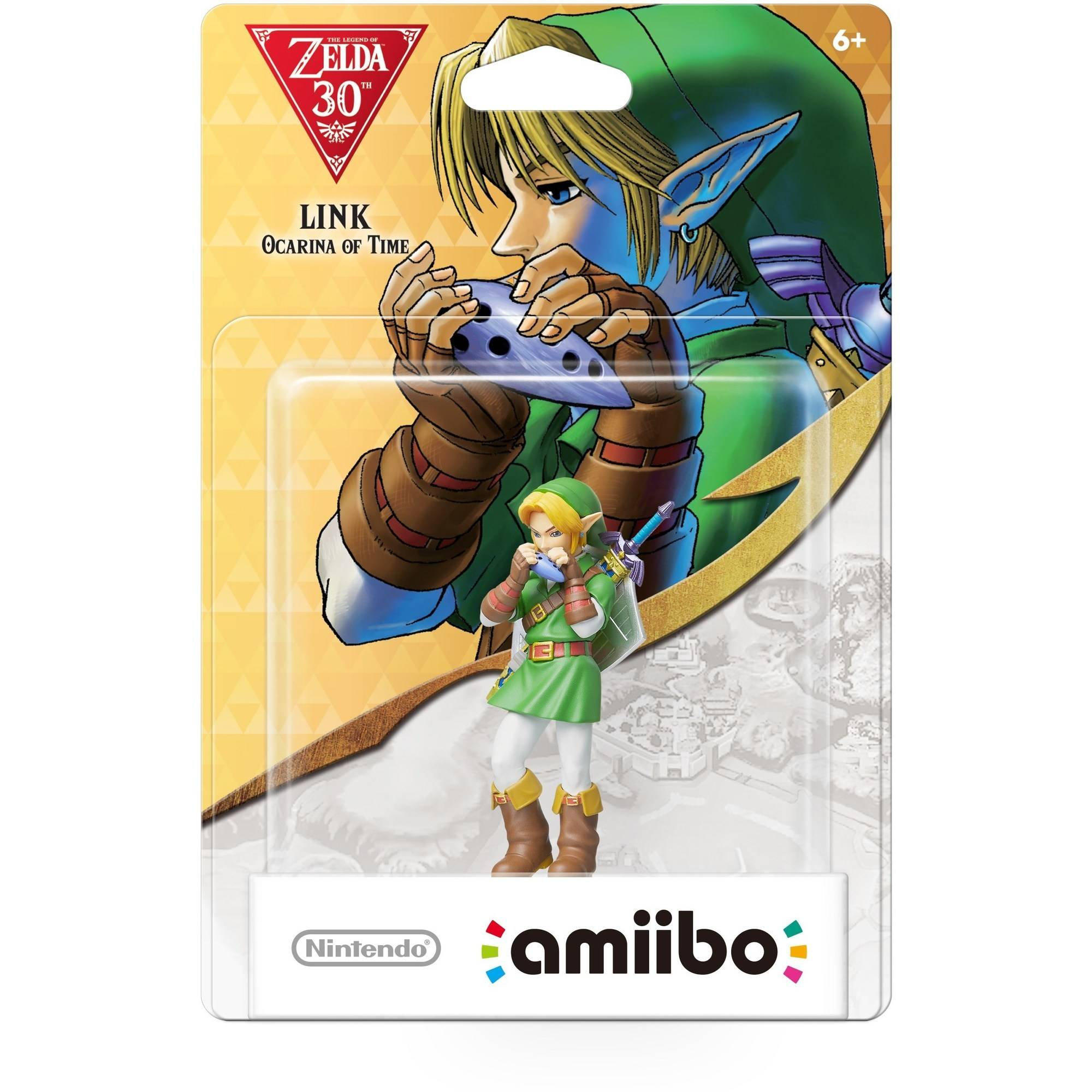 Link from Ocarina of Time Zelda Series amiibo (Wii U)