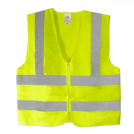 Roadside Safety Vests Xxx Large Neon Green Ansi Approved (High Vis Safety Green)
