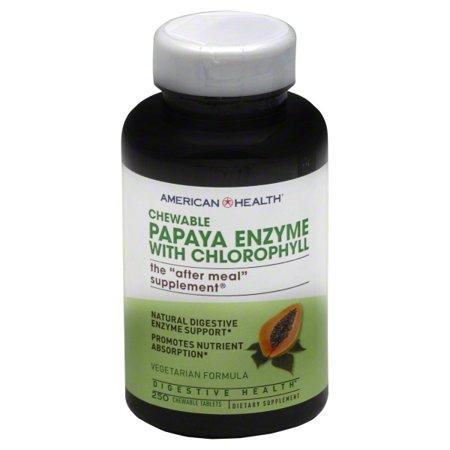 American Health American Health  Papaya Enzyme, 250 ea