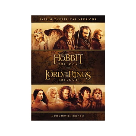 Middle-Earth Theatrical Collection: The Hobbit Trilogy and The Lord Of The Rings Trilogy (DVD) Charmayne James Collection