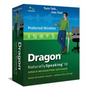 Nuance Dragon NaturallySpeaking 10 Preferred Wireless Bundle