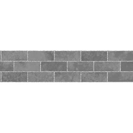 Tales Border - Slate Stone Tile Peel & Stick Border