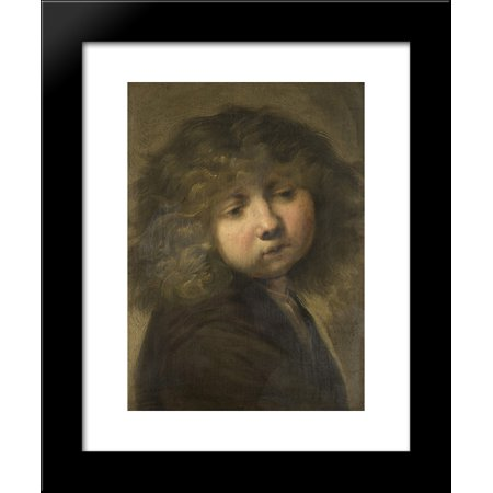 Boys Cup 20x24 Framed Art Print By Rembrandt Walmartcom