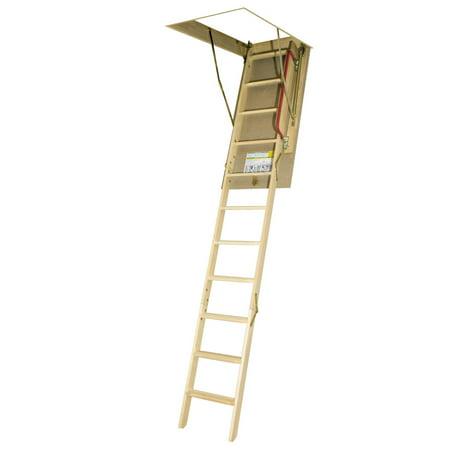 FAKRO LWNP-66874 Folding Pine Wood Ladder  - Pine Veneer Ladder