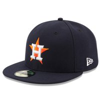 best service 16fb2 3c5cd Product Image Houston Astros New Era Home Authentic Collection On Field  59FIFTY Performance Fitted Hat - Navy