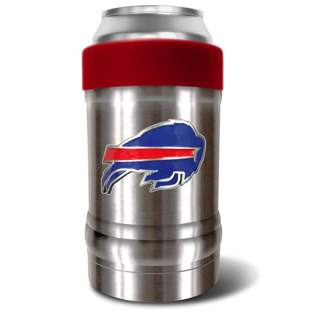 Buffalo Bills The Locker 12oz. Can Holder - Silver/Red - No Size