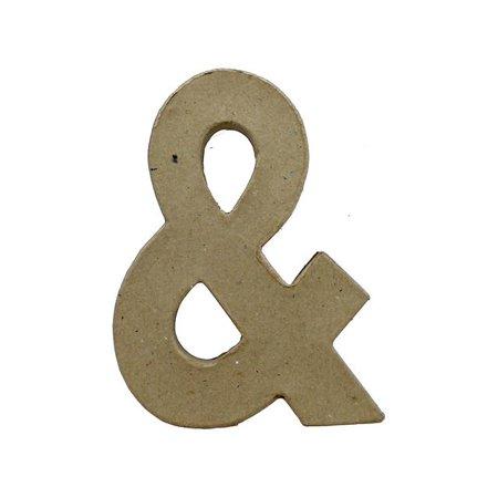 PA Paper Mache Ampersand 6