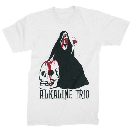 Alkaline Trio- Bloody Nun Apparel T-Shirt - - Alkaline Trio Halloween