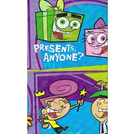 Fairly OddParents Plastic Table Cover (1ct)