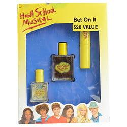 HIGH SCHOOL MUSICAL COLOGNE SPRAY 1 OZ & POCKET SPRAY .5 OZ & SHIMMER FRAGRANCE STICK .25 OZ BY Disney (Monster High Fragrance)