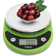Ozeri Pronto Digital Multifunction Kitchen and Food Scale, Lime Green