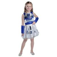 CLASSIC STAR WARS R2D2 GIRLS DRESS COSTUME-18-24Mo