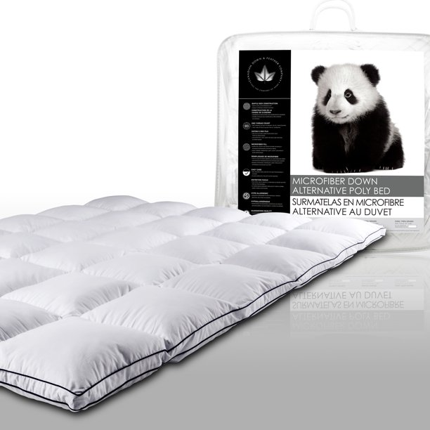 Canadian Down and Feather Company Microfiber Down Alternative Fiber Bed Twin