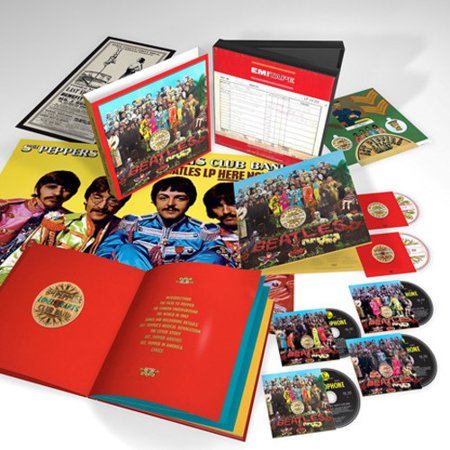 Sgt. Pepper's Lonely Hearts Club Band (CD) (Includes DVD) (Includes (Sgt Peppers Lonely Hearts Club Band Super Deluxe)