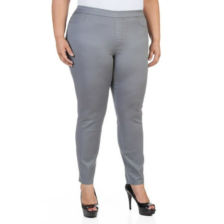 71630cacd5697 Faded Glory - Women's Plus-Size Denim Jeggings - Walmart.com