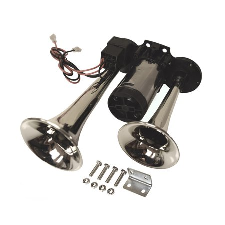 Viking Horns V618K Loud 12 Volt Dual Trumpet Air Horn for Car, Truck, Suv,