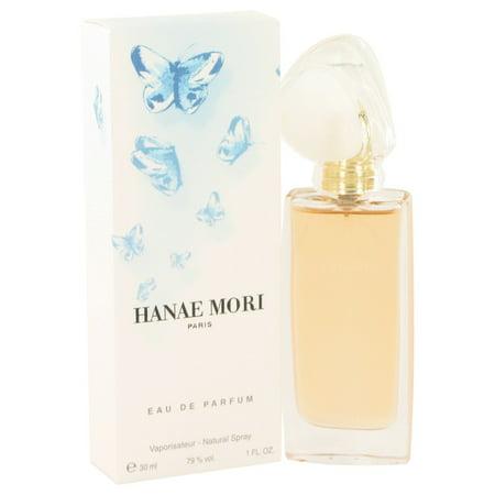 Hanae Mori HANAE MORI Eau De Parfum Spray (Blue Butterfly) for Women 1 (Hanae Mori Butterfly Eau De Parfum Rollerball)