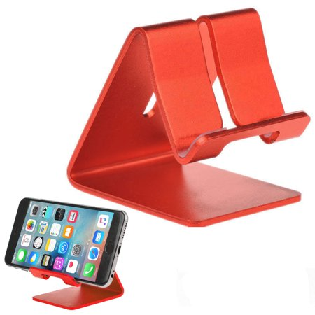 Universal Aluminium Alloy Cell Phone Tablet Desk Stand Holder Mount For iPhone XR /XS/ XS Max/X/8, Samsung Galaxy S9/S9 Plus S8/S8 Plus Note 9/8/5