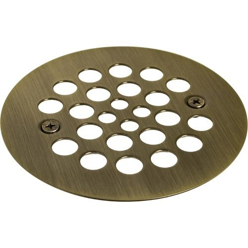 "Monogram Brass MB13944 4-1/4"" Tub and Shower Drain Cover"