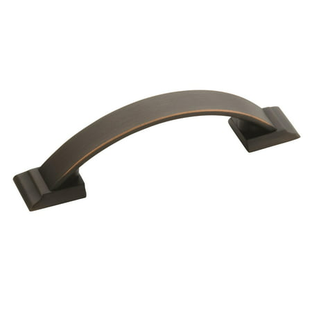 Candler 3 in (76 mm) Center-to-Center Oil-Rubbed Bronze Cabinet Pull - 10 Pack