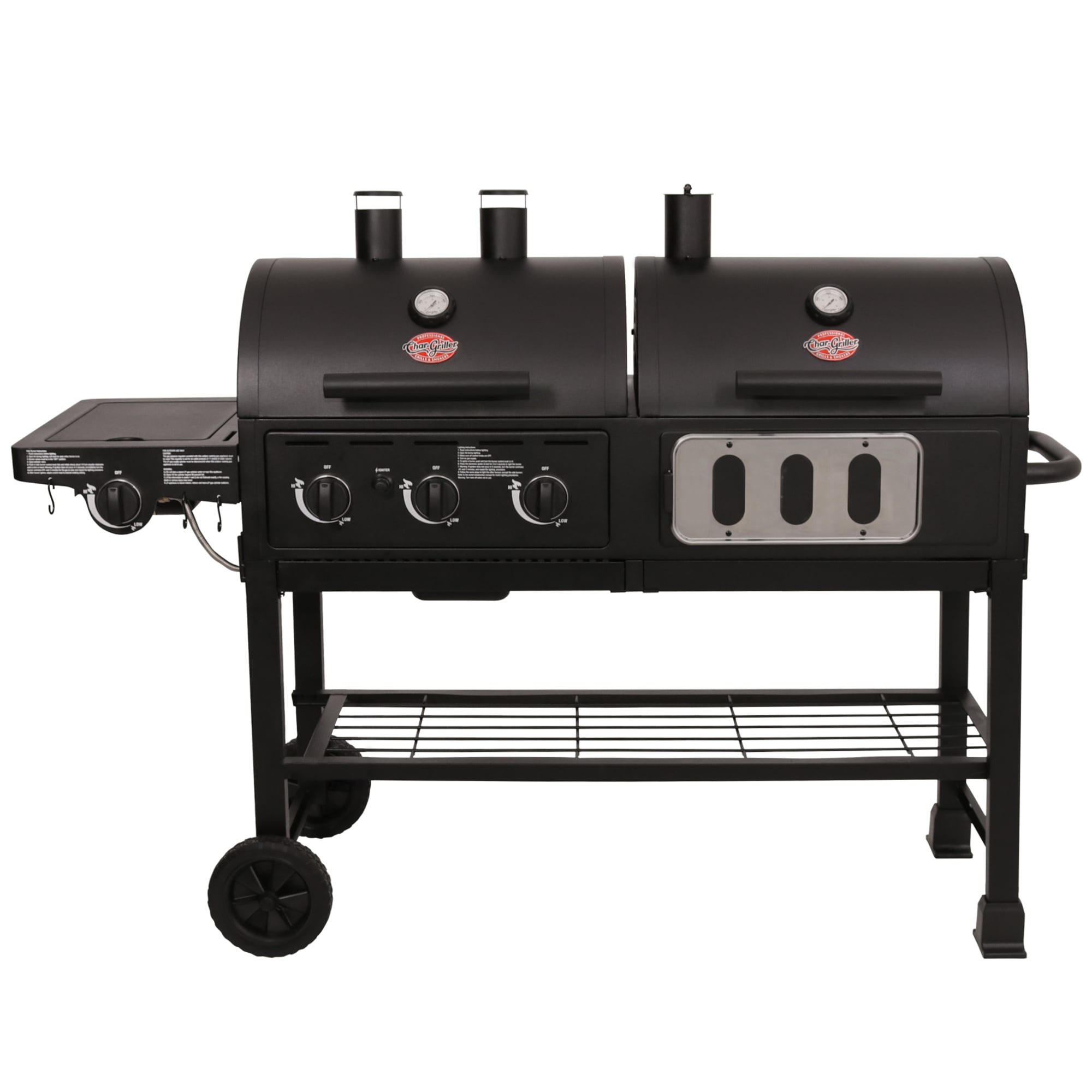 Char-Griller 5750 Hybrid Gas & Charcoal Grill