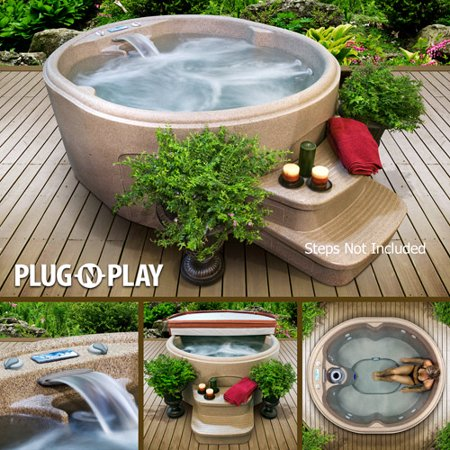 The Rock 3-4 Person Hot Tub by