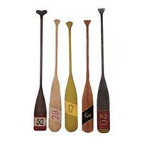 Guild Master Decorative Nautical Oars - Set of 5