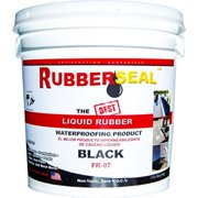 Rubberseal™ Liquid Rubber Waterproofing Roll On – 1 Gallon Black